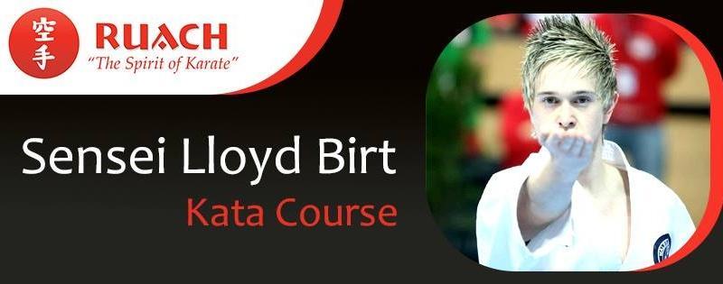 Sensei Lloyd Birt Kata Course