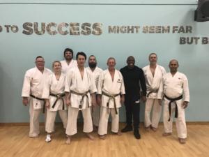 Master Class with Sensei Dave Hazard 7th Dan