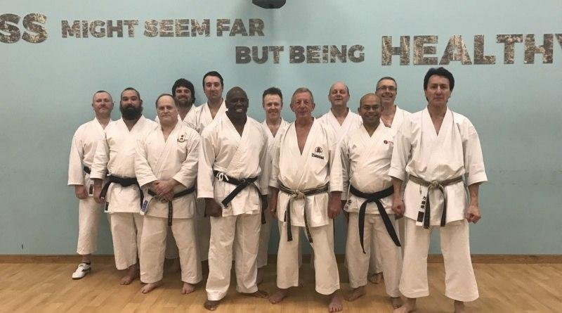 Master Class Weekend with Sensei Dave Hazard 7th Dan