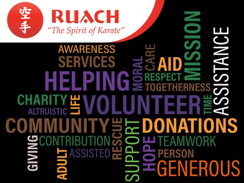 Ruach Karate in the Commuinity