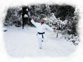 Jody in the snow