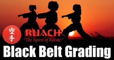 BLACK BELT GRADING UP DATE