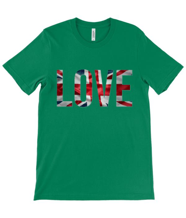 Adults Unisex Crew Neck T-Shirt ruach love