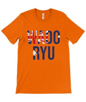 Adults Unisex Crew Neck T-Shirt ruach Wado Ryu