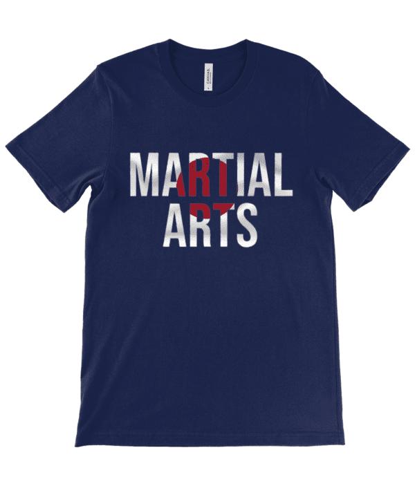 Adults Unisex Crew Neck T-Shirt ruach Martial Arts