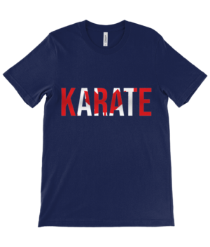 Adults Canvas Unisex Crew Neck T-Shirt ruach karate